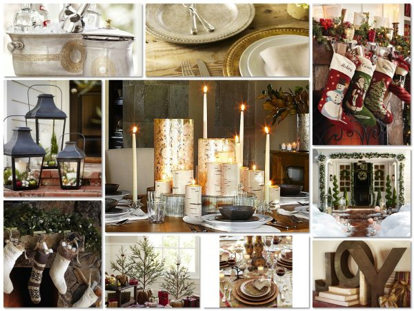 Christmas has arrived at Pottery Barn