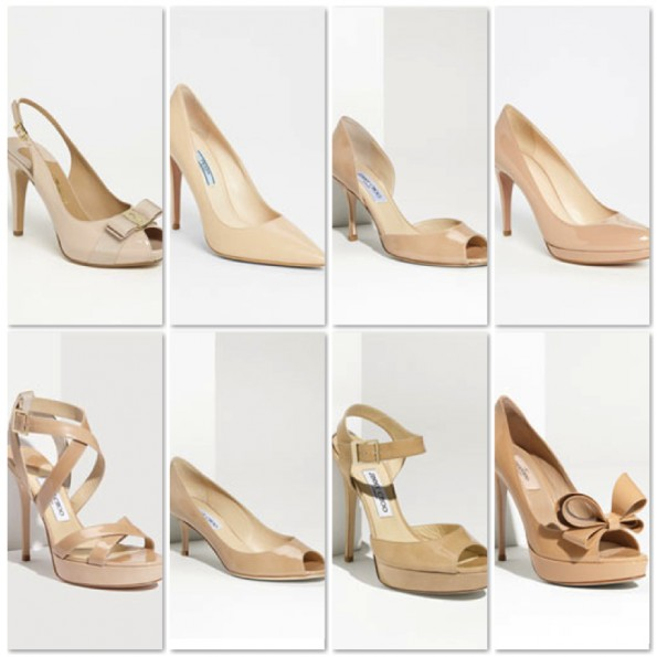 , Nude shoes!