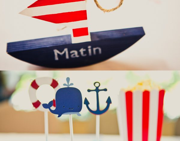 Style Me Pretty: Nautical Kids Birthday