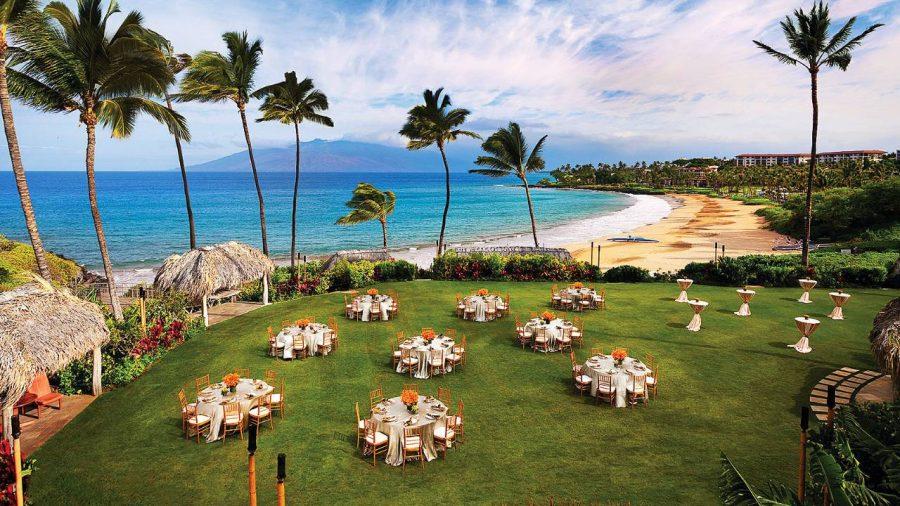 Destination wedding: Four Seasons Maui