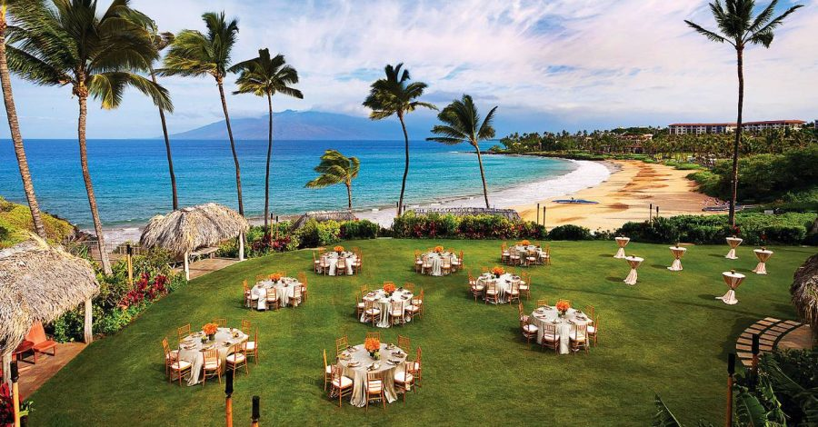 Destination wedding: Four Seasons Maui