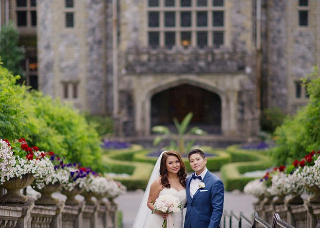Featured Wedding: Carolina & Jonathan's Castle Wedding
