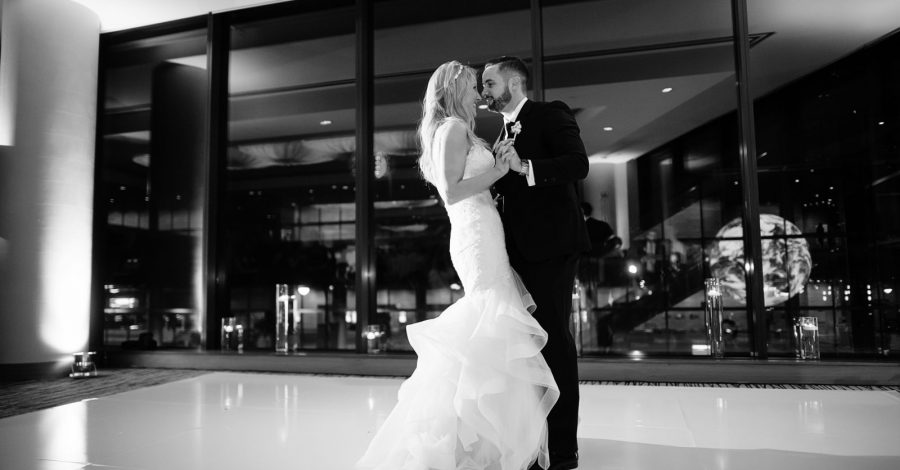 Featured Wedding: Laura & Carl's Surprise Winter Wedding