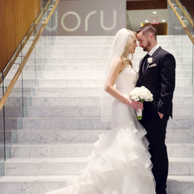 Vancouver Real Weddings, Featured Wedding: Laura & Carl's Surprise Winter Wedding