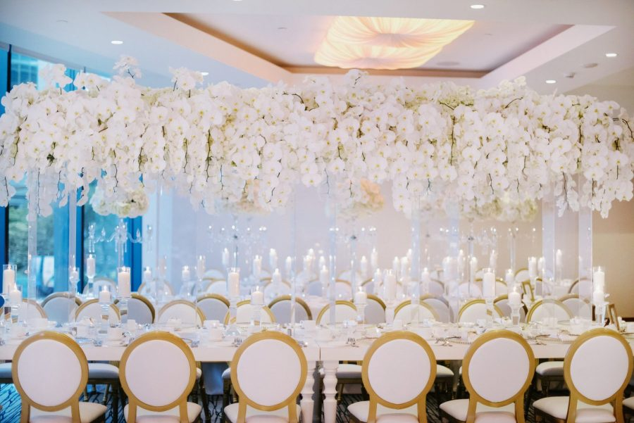 Elegant Pure White Wedding