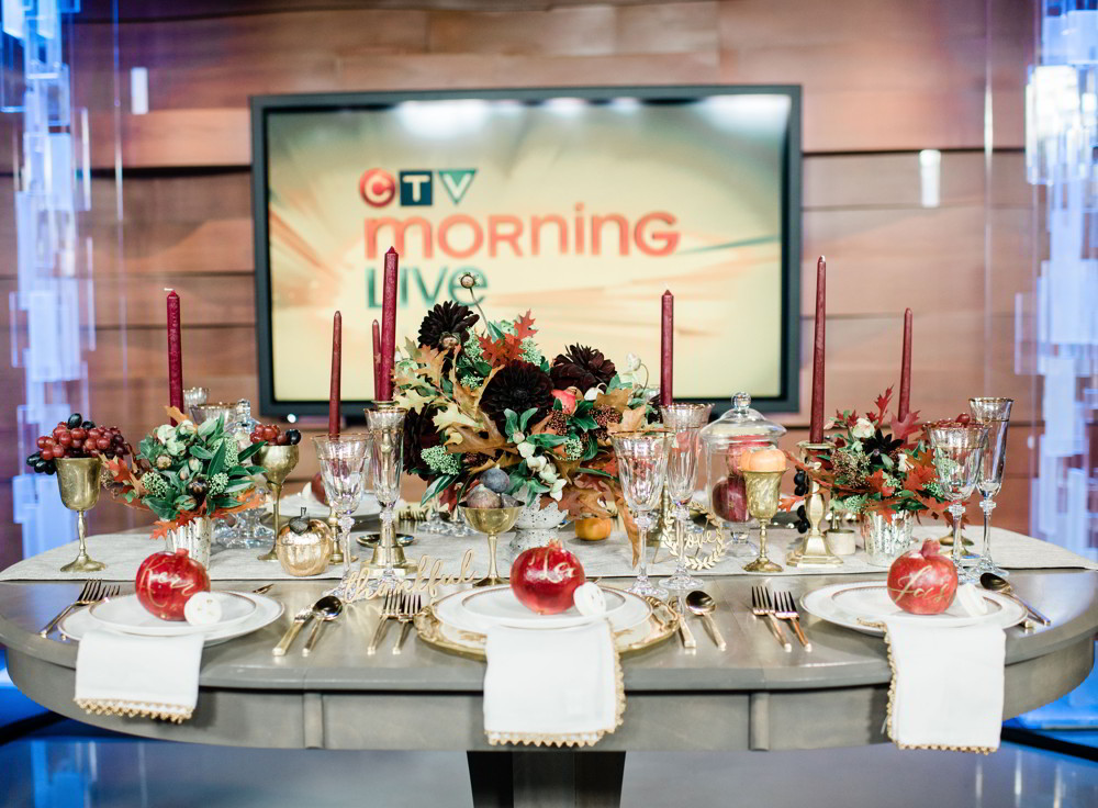 , Fall Decor Feature on CTV